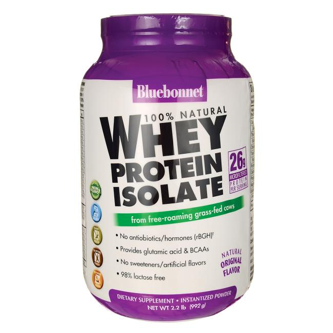 Bluebonnet Nutrition Whey Protein Isolate - Original