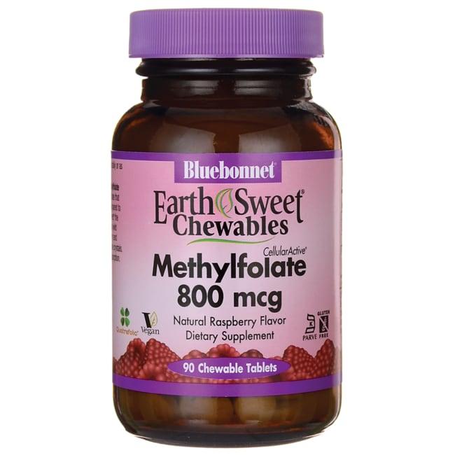 Bluebonnet NutritionEarthSweet Chewables Methylfolate