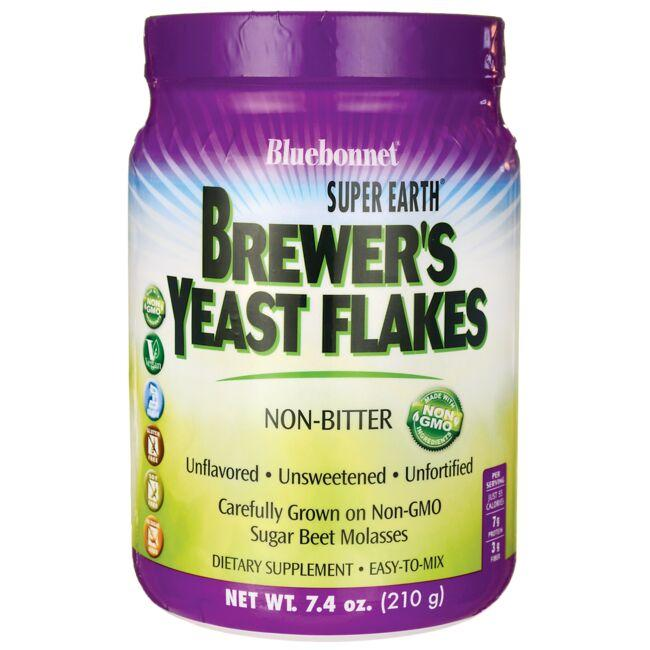 Bluebonnet Nutrition Super Earth Brewer's Yeast Flakes