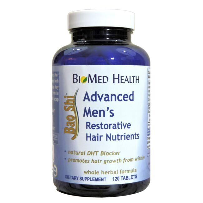 BioMed HealthAdvanced Men's Bao Shi Restorative Hair Nutrients