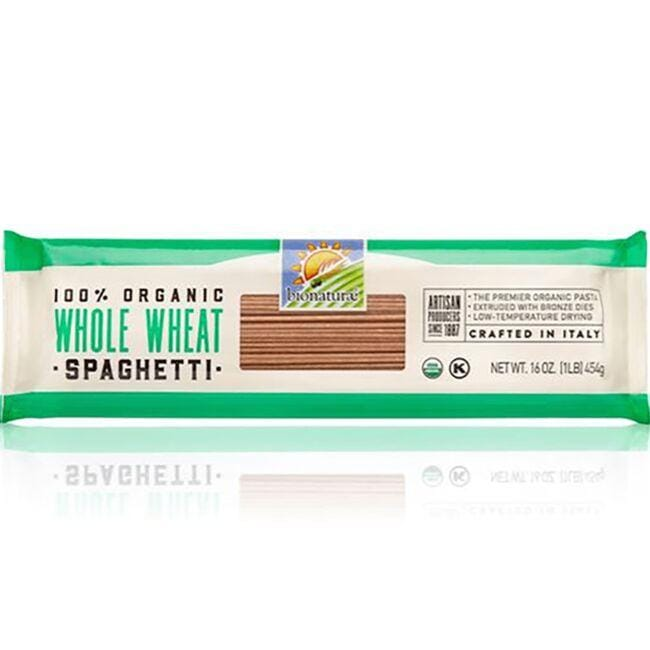 Bionaturae 100% Organic Whole Wheat Spaghetti