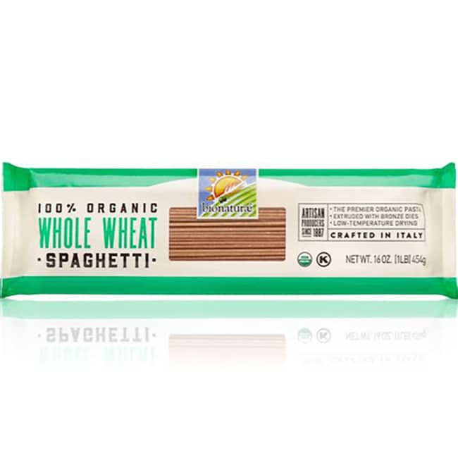 BionaturaeOrganic 100% Whole Wheat Spaghetti