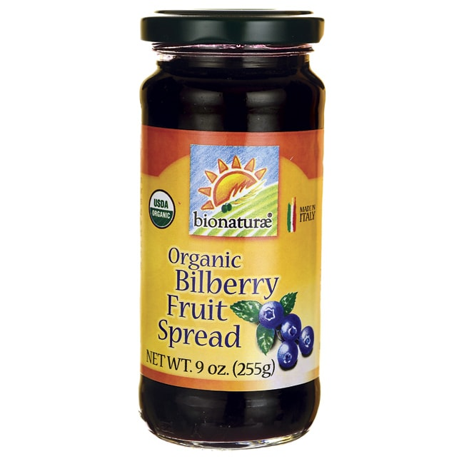 BionaturaeOrganic Bilberry Fruit Spread