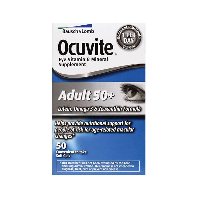 Bausch & LombOcuvite Adult 50+