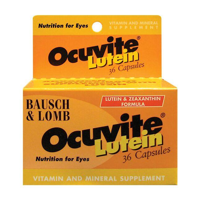Bausch & Lomb Ocuvite with Lutein