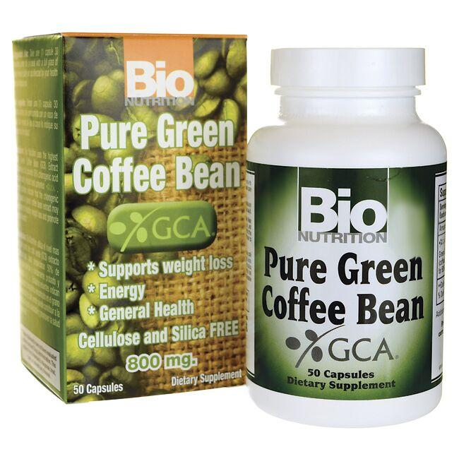 Bio Nutrition Pure Green Coffee Bean 800 Mg 50 Caps Buy Online In Gambia Bio Nutrition Products In Gambia See