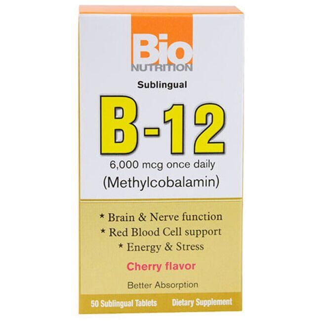 Bio NutritionB-12 (Methylcobalamin) - Cherry