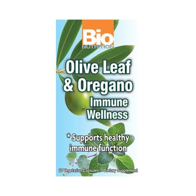Bio Nutrition Olive Leaf & Oregano Immune Wellness
