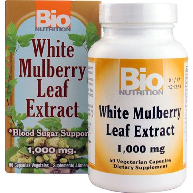 Bio Nutrition White Mulberry Leaf Extract