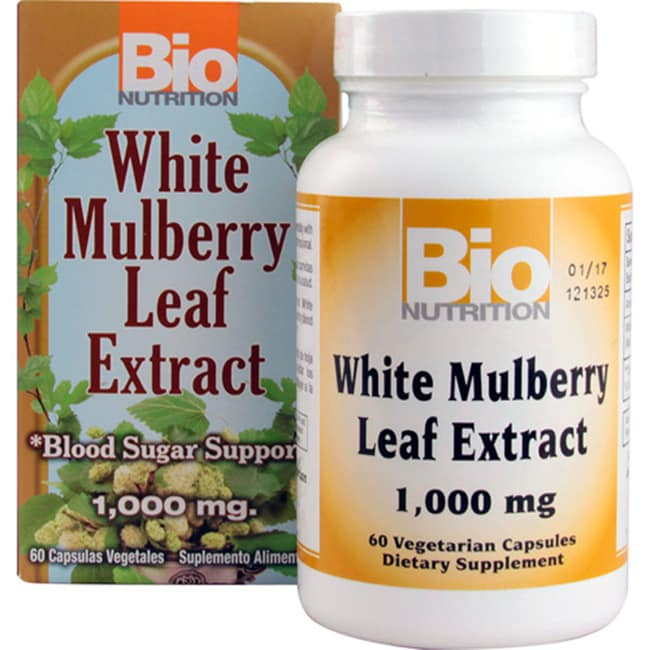 Bio NutritionWhite Mulberry Leaf Extract