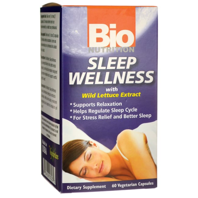 Bio NutritionSleep Wellness with Wild Lettuce Extract