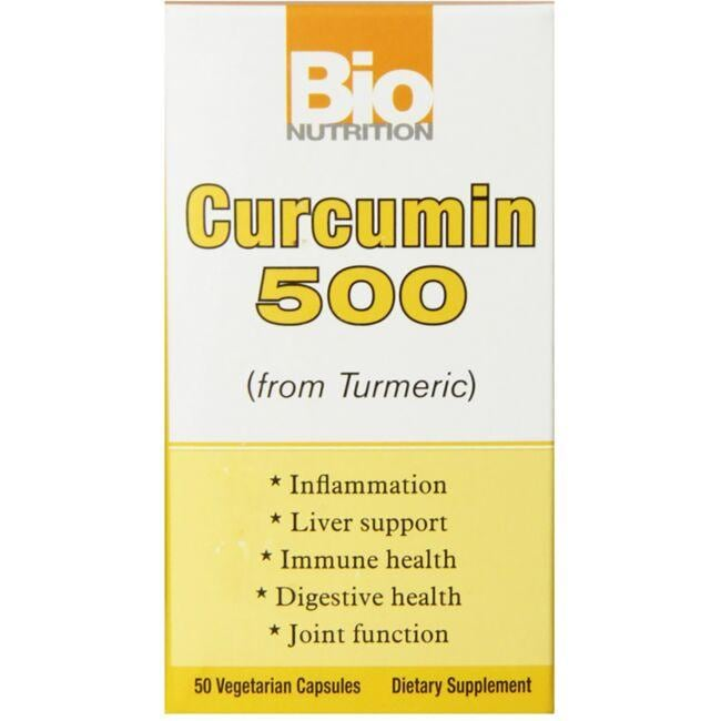 Bio Nutrition Curcumin 500 (from Turmeric)