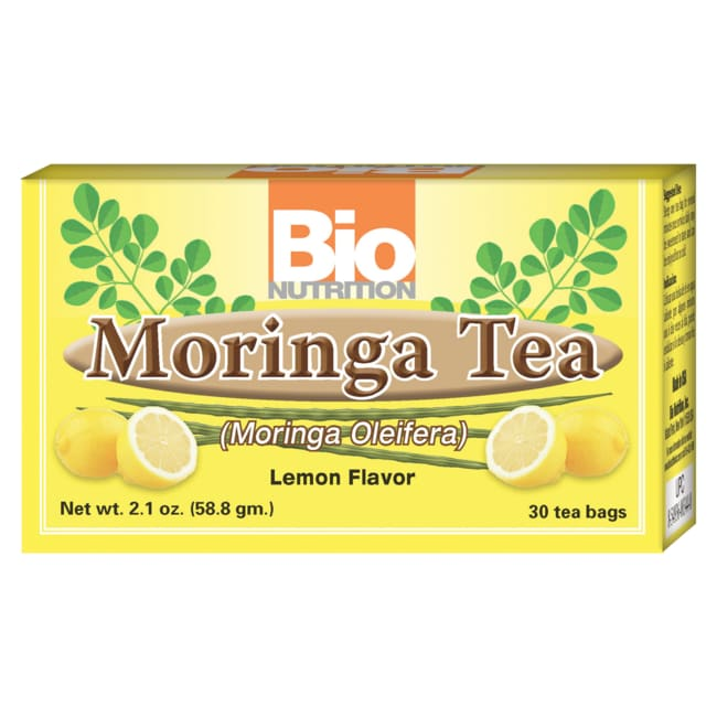 Bio NutritionMoringa Tea - Lemon