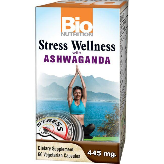 Bio NutritionStress Wellness with Ashwaganda