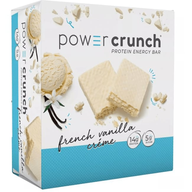 BioNutritional Research Group Power Crunch Protein Energy Bar French Vanilla Creme