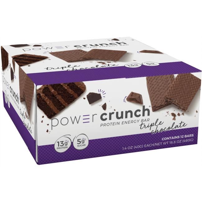 BioNutritional Research GroupPower Crunch Protein Energy Bar Triple Chocolate