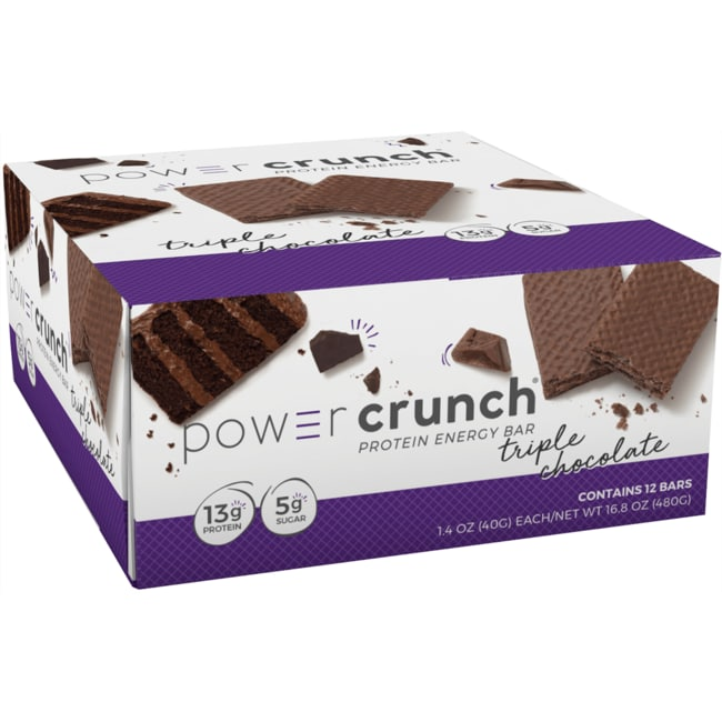 BioNutritional Research Group Power Crunch Protein Energy Bar Triple Chocolate