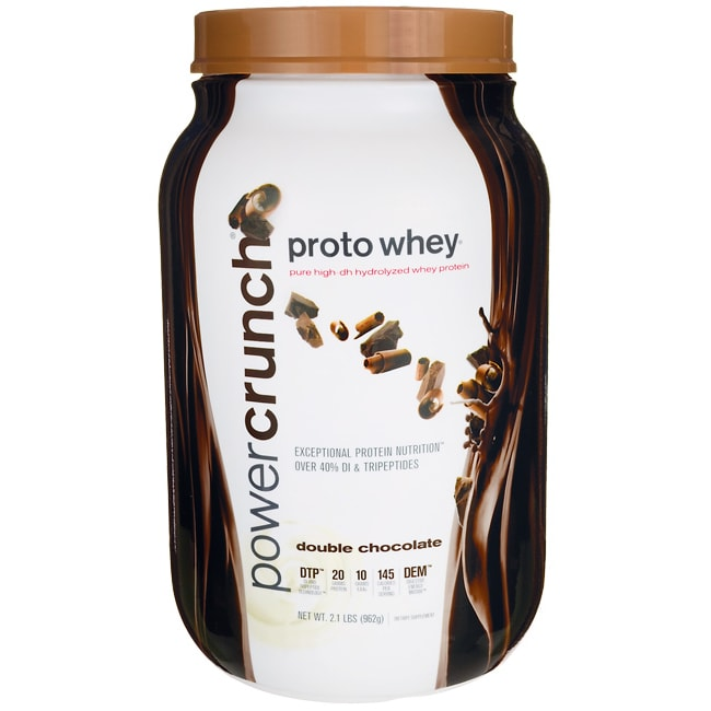 BioNutritional Research GroupPower Crunch Proto Whey Double Chocolate