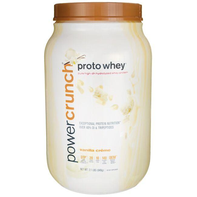 BioNutritional Research GroupPower Crunch Proto Whey Vanilla Creme