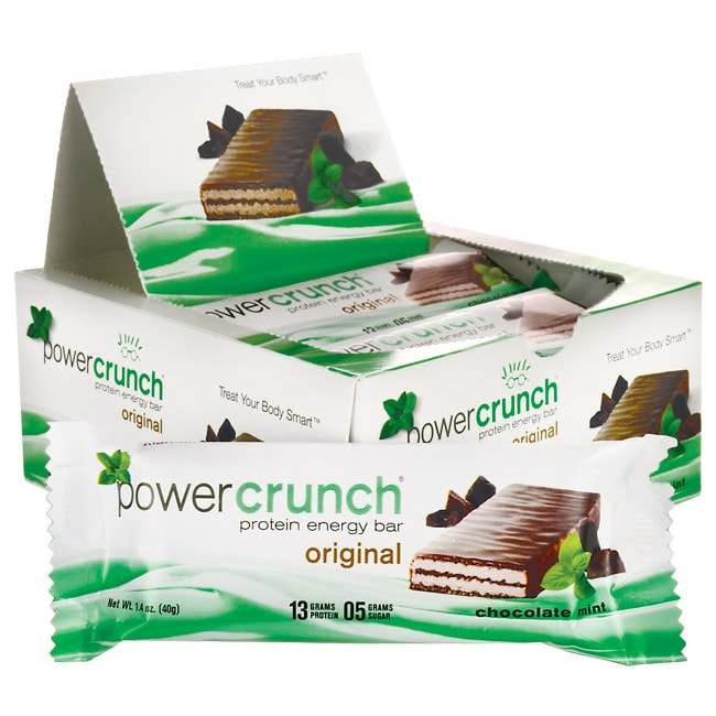 BioNutritional Research GroupPower Crunch Protein Energy Bar Chocolate Mint