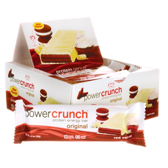 BioNutritional Research Group Power Crunch Protein Energy Bar - Red Velvet