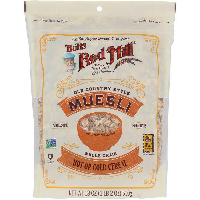 Bob's Red Mill Old Country Style Muesli Cereal
