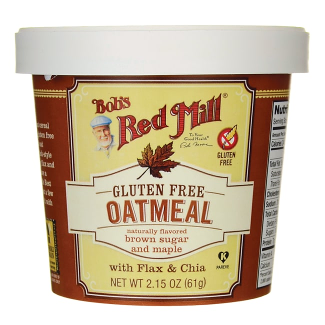 Bob's Red MillGluten Free Oatmeal Brown Sugar and Maple