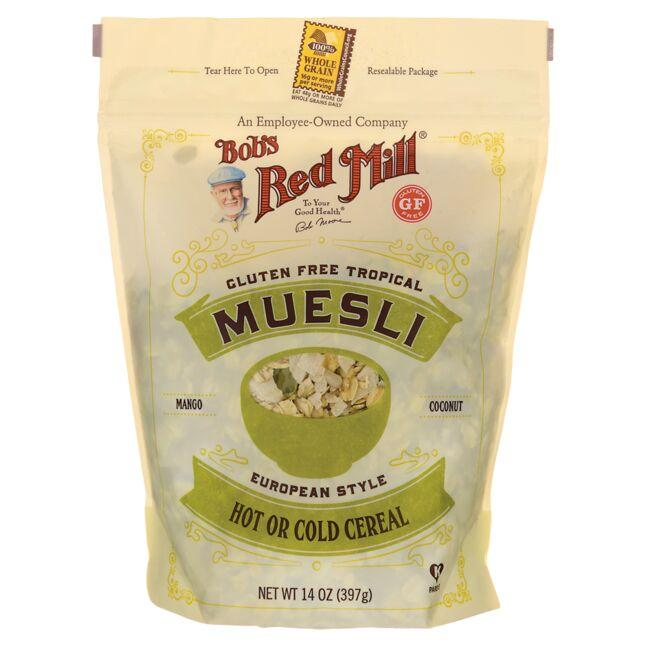 Bob's Red Mill Muesli - Gluten Free Tropical