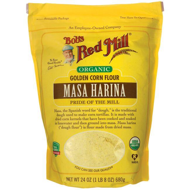 Bob's Red Mill Organic Masa Harina Golden Corn Flour
