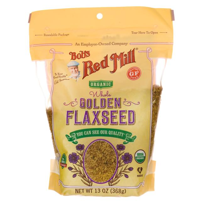 Bob's Red Mill Organic Whole Golden Flaxseed