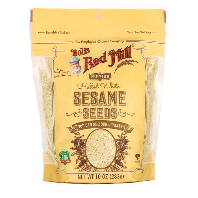 Bob's Red Mill Premium Hulled White Sesame Seeds
