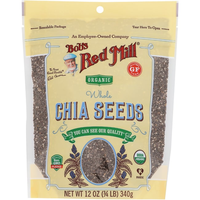 Bob's Red MillOrganic Whole Chia Seeds
