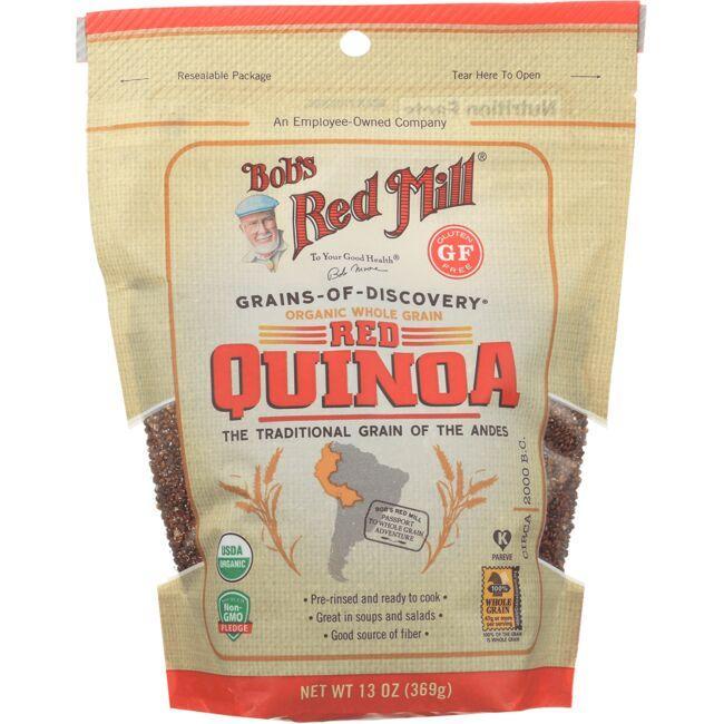 Bob's Red MillOrganic Whole Grain Red Quinoa