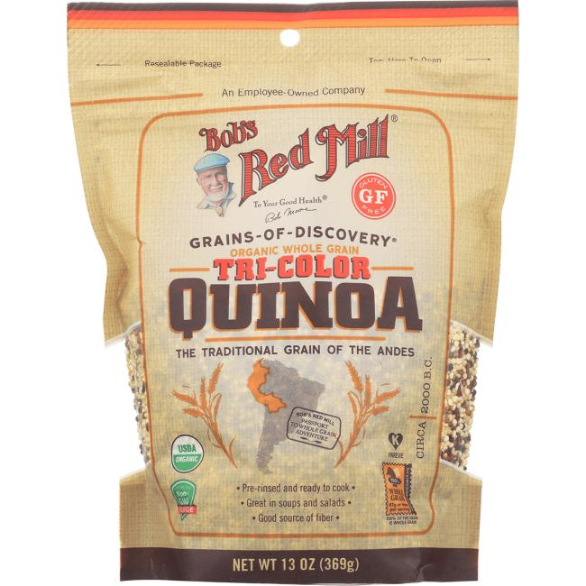 Bob's Red Mill Organic Whole Grain Tri-Color Quinoa