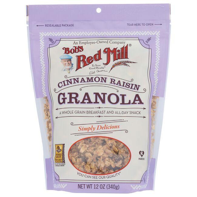 Bob's Red MillCinnamon Raisin Granola - Lightly Sweetened