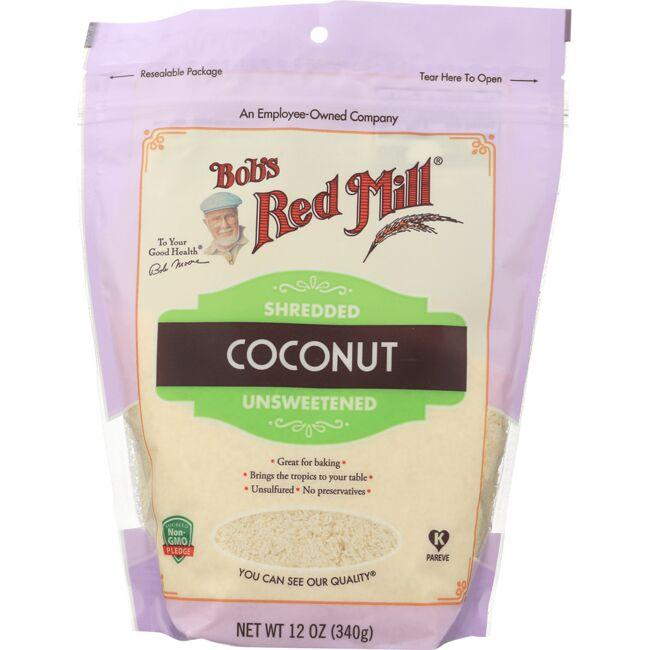 Bob's Red Mill Shredded Coconut - Unsweetened