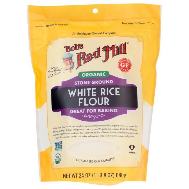 Bob's Red Mill Organic Stone Ground White Rice Flour