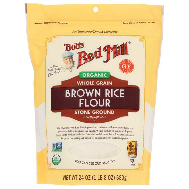 Bob's Red MillOrganic Whole Grain Brown Rice Flour