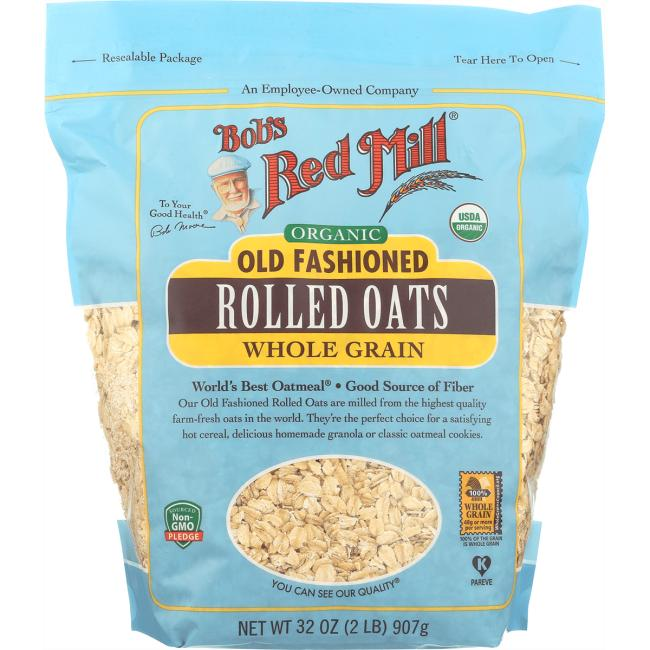 Bob's Red Mill Old Fashioned Organic Rolled Oats
