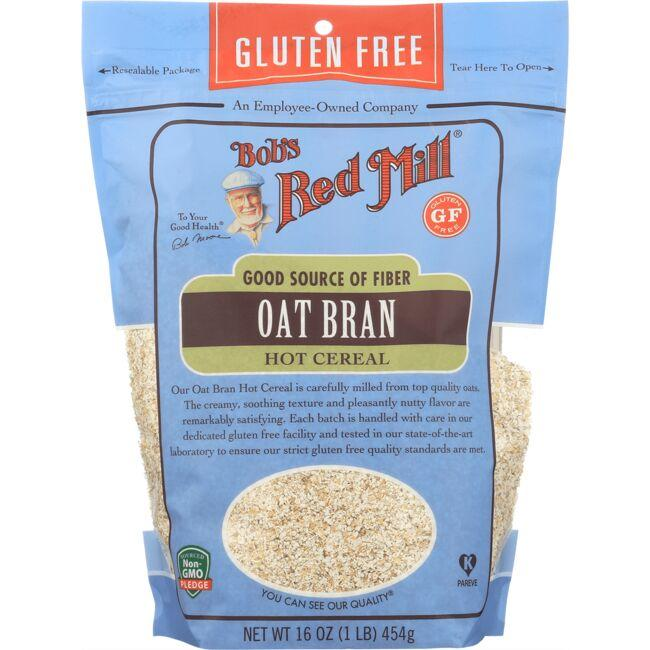Bob's Red Mill Gluten Free Oat Bran Hot Cereal