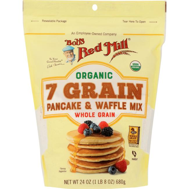 Bob's Red MillOrganic 7 Grain Pancake & Waffle Mix