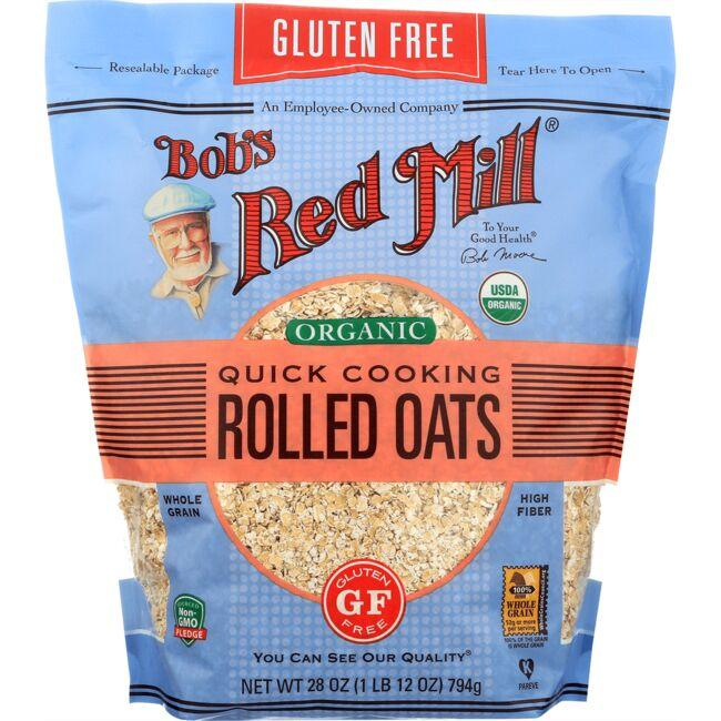 Bob's Red MillGluten Free Organic Quick Cooking Rolled Oats