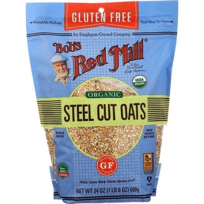 Bob's Red MillOrganic Steel Cut Oats