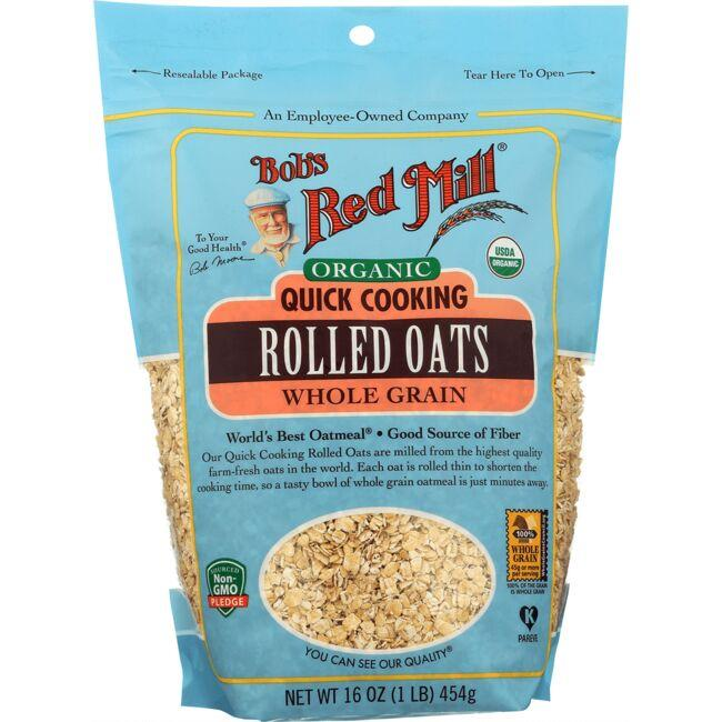 Bob's Red MillOrganic Quick Cooking Rolled Oats