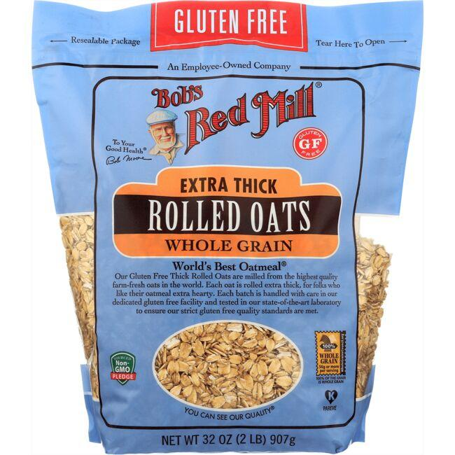 Bob's Red MillGluten Free Extra Thick Rolled Oats