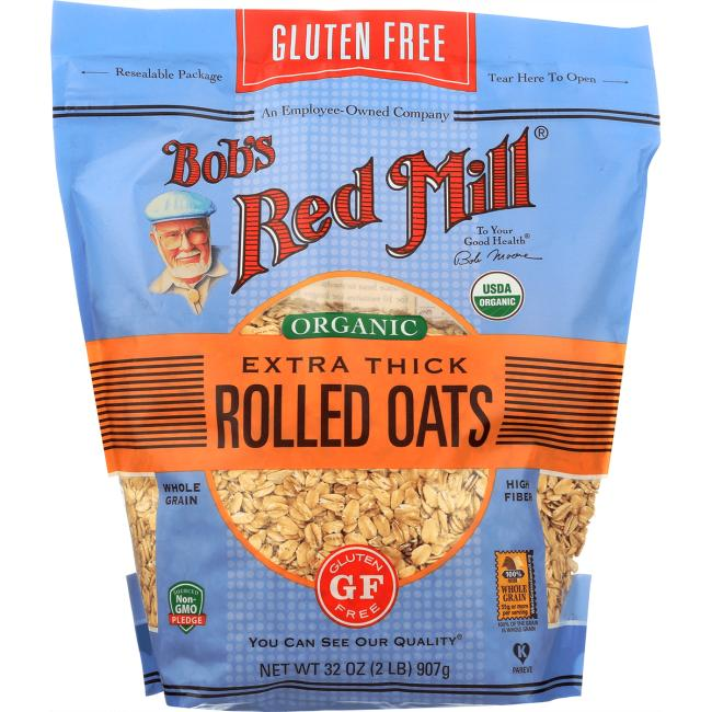 Bob's Red Mill Organic Thick Rolled Oats