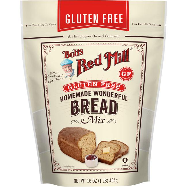 Bob's Red MillHomemade Wonderful Gluten Free Bread Mix
