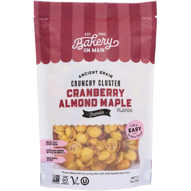 Bakery on MainGluten Free Granola - Cranberry Almond Maple