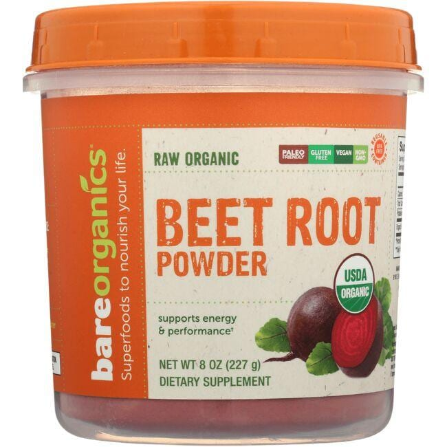 BareOrganicsRaw Organic Beet Root Powder
