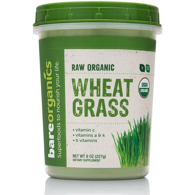 BareOrganicsRaw Organic Wheatgrass